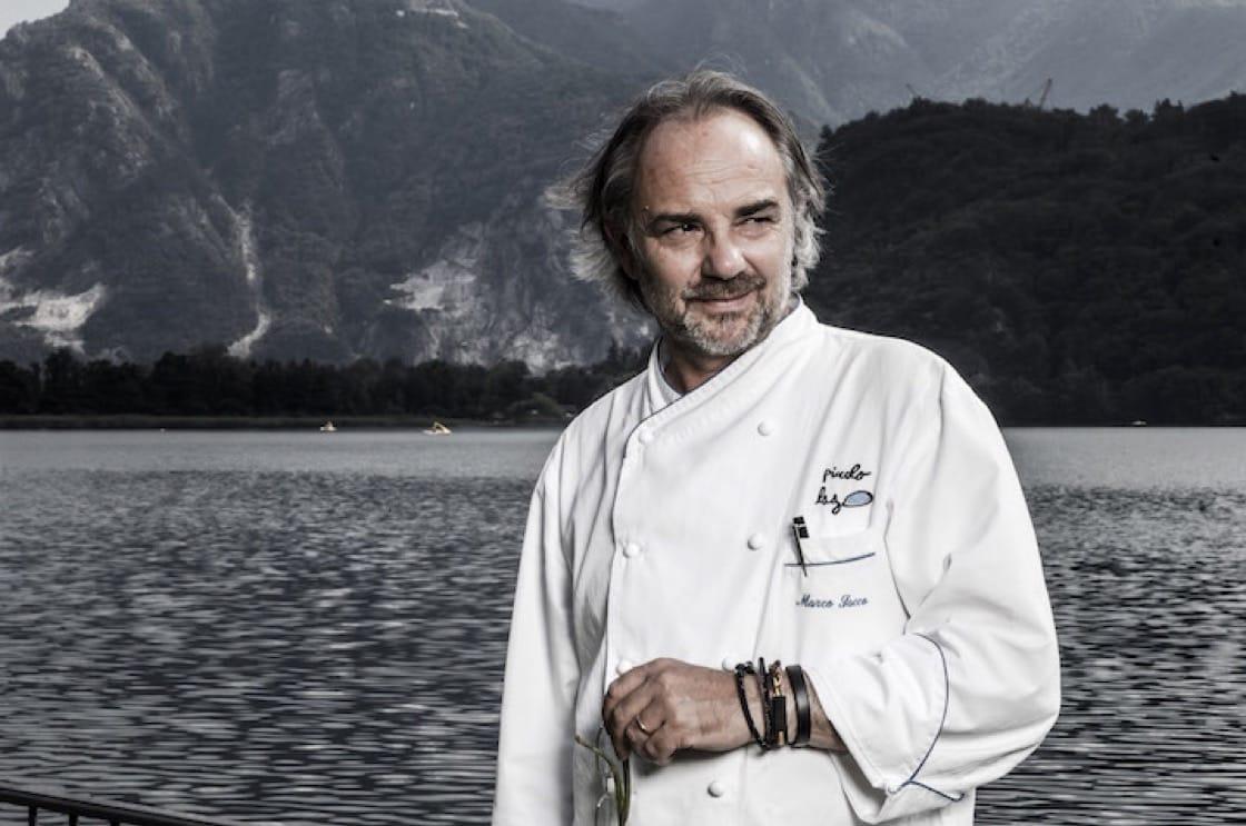 意大利米芝蓮二星餐廳 Piccolo Lago 大廚 Marco Sacco(圖片:Castellana)