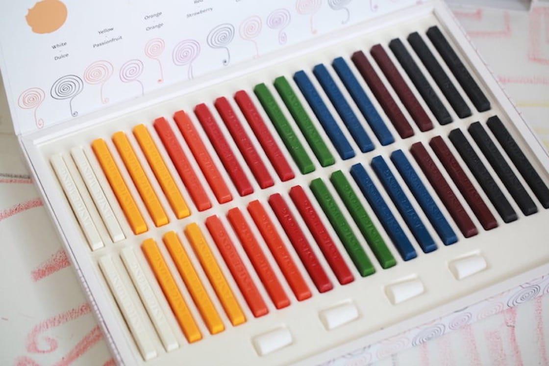 The Chocolate Crayon Box Set (Pic: Janice Wong)