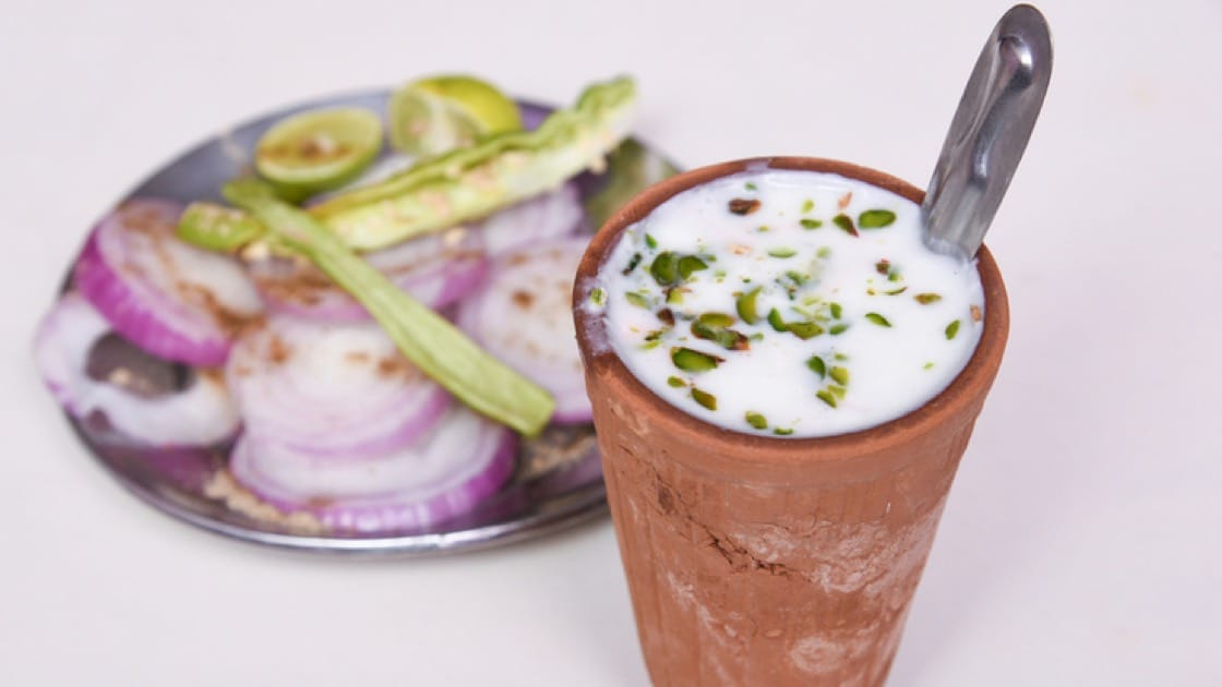 Salted lassi is a traditional Indian yoghurt-based drink (Pic: Shutterstock)