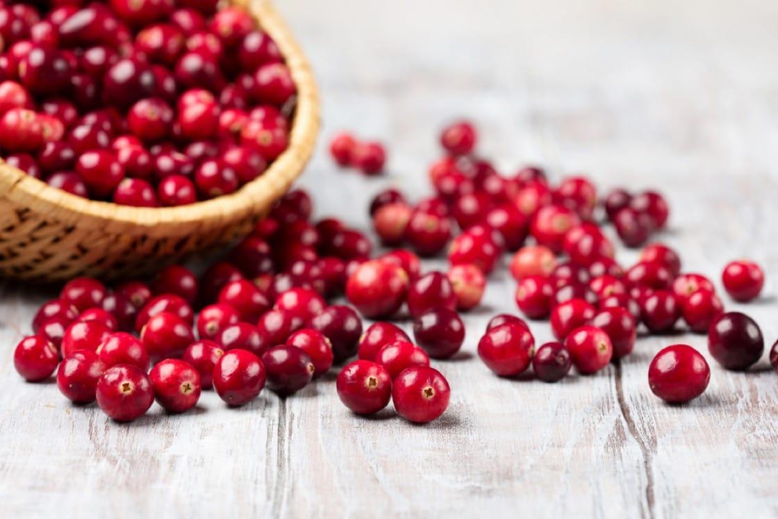 紅色的蔓越莓,專治尿道炎。(資料圖片)
