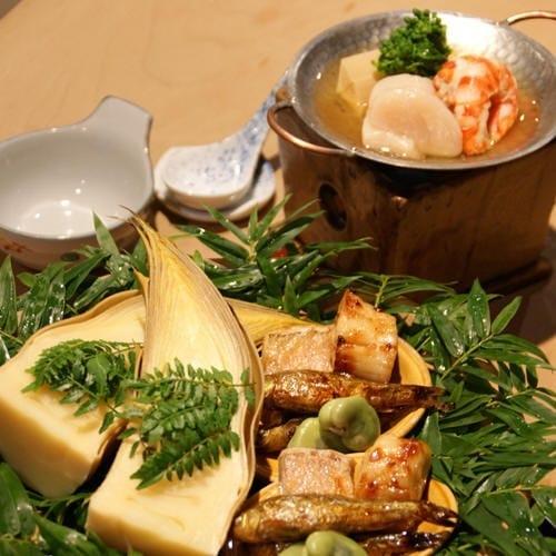 获得米其林三星的日本料理店「土方」(「土」上横线右上加一点,ひじかた)的菜式。(图片:取自该餐馆面簿)