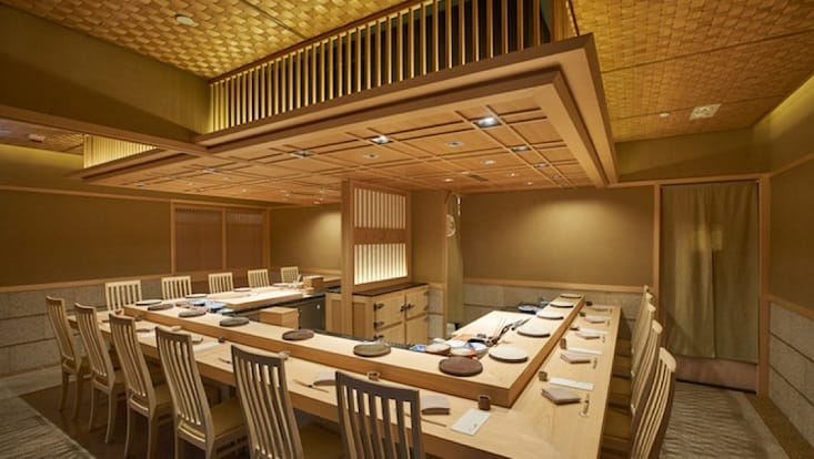 At Hong Kong's two-MICHELIN-starred Sushi Saito, a full payment is taken at reservation. (Pic: Sushi Saito)