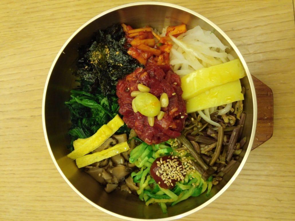 비빔밥 조건 없는 자유