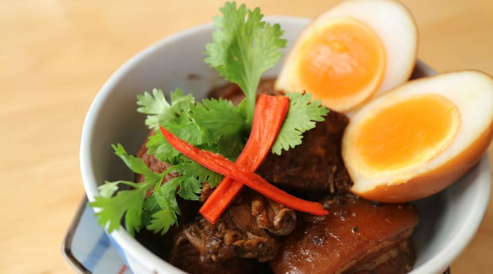 """Southern style stewed pork with Chinese """"five spice"""" powder."""