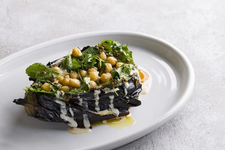The Botanic's Charred Eggplant is one of the most popular dishes at The Botanic. (Photo: The Botanic)