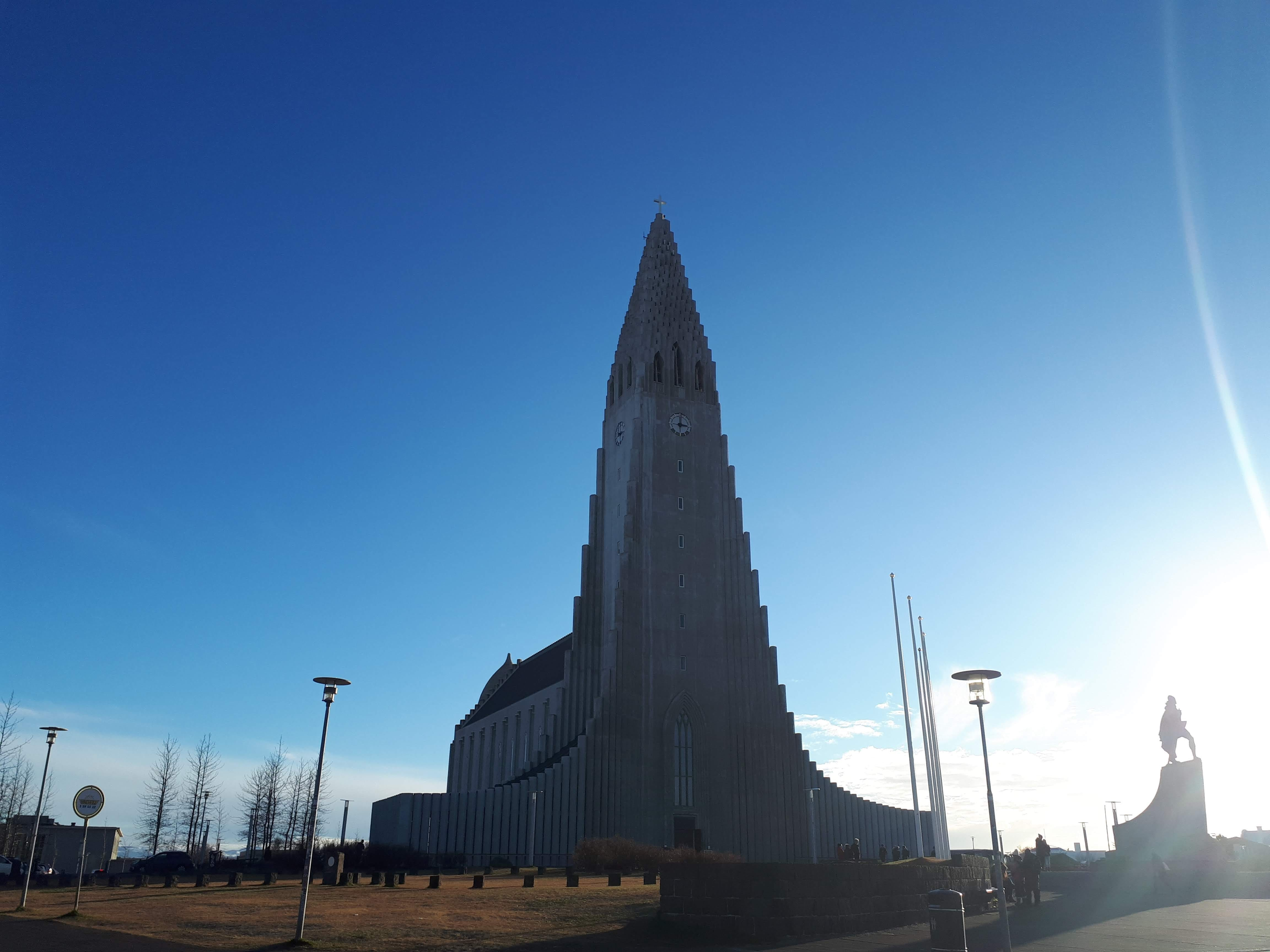The Hallgrímskirkja Church