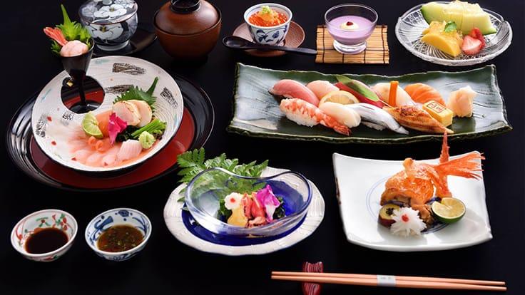 Authentic set of omakase sushi at Yamazato. Photo source: Yamazato's Facebook page.