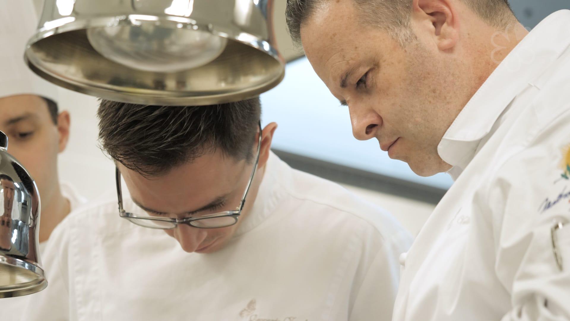 Fabrice Vulin 和 Leonardo Zambrino(左),緊密合作已三年。