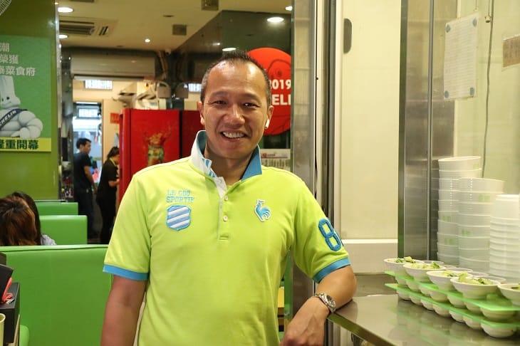 泰潮老闆華哥,由愛吃泰菜愛到經營泰菜館。(圖片:陳佳男)