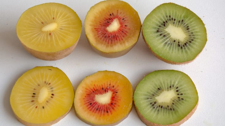 Whether gold, red or green, kiwis have a whole host of nutritional benefits.