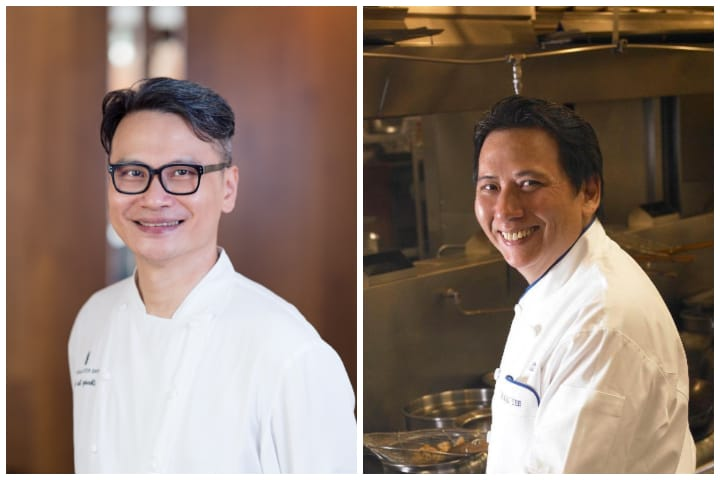 Summer Pavilion's Chinese executive chef Cheung Siu Kong first worked with his mentor chef Fok Kai Yee at Lei Garden in Hong Kong.