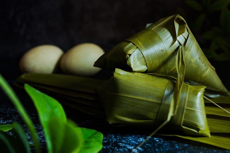 山東人吃糭,會加入雞蛋一起烚。(資料圖片)