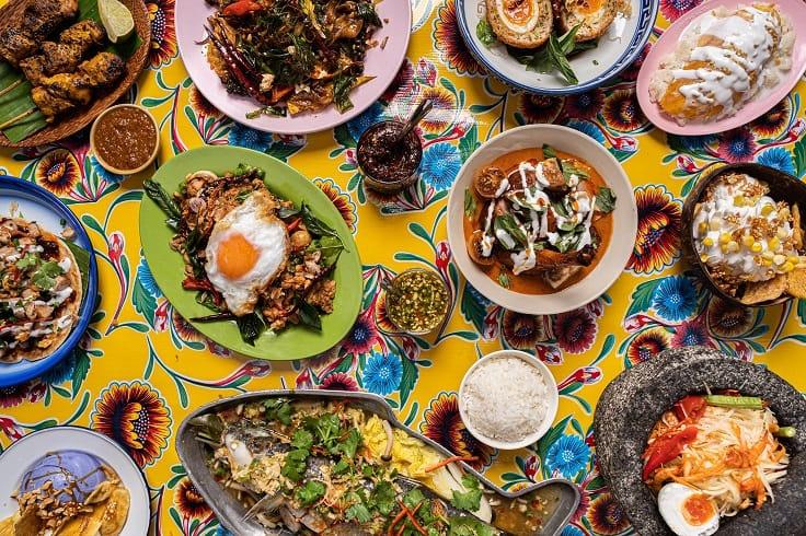 Sip Song 以曼谷傳統街頭小食為基礎。(圖片:Sip Song)