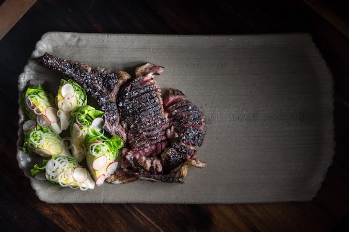Sink your teeth in the fork-tender 45 day Dry Age Blackmore Wagyu from Burnt Ends. (Photo: Burnt Ends)