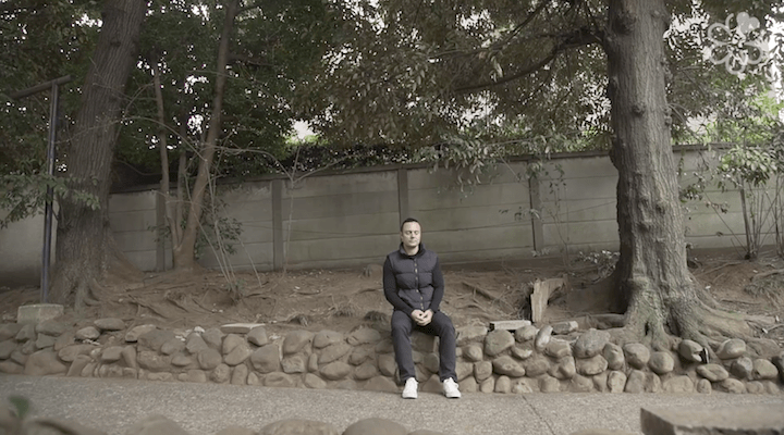 Myers enjoys finding tranquil spots to meditate in Tokyo, which helps him find calmness and clarity.