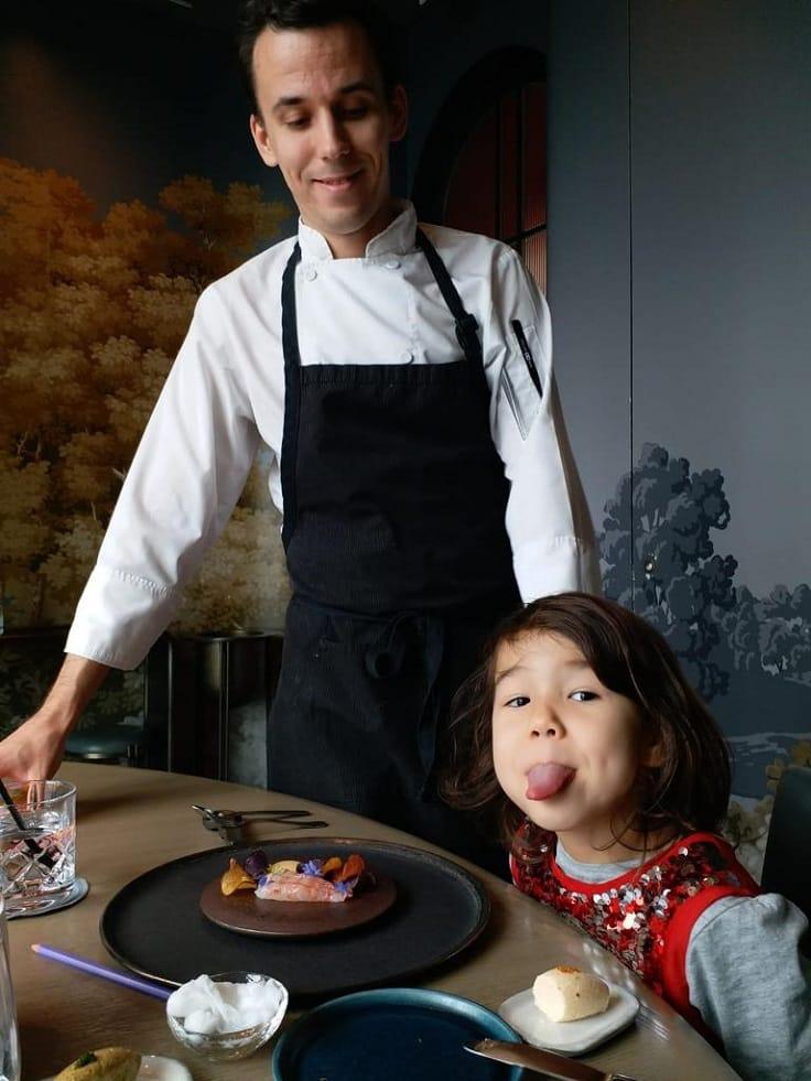 對 Arbor 大廚 Eric Räty 來說,女兒是創作靈感的來源。(圖片:Arbor)