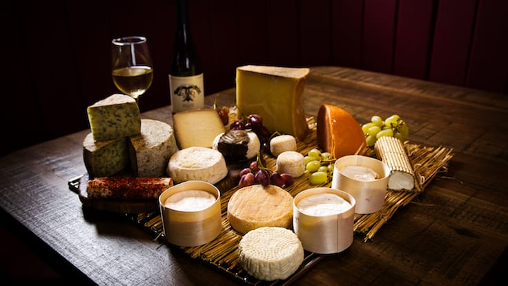 French cheeses aged in-house at Bar-Roque (Pic: Bar-Roque Grill)