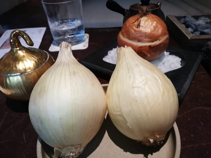 Cevennes onion, which is grown in France and is raved for its sweet and delicate flesh. (Photo: Kenneth Goh)