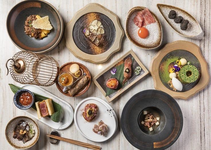 當味餐單(Hiyama x Vanne Tasting Menu)可以充分體會西式上菜風格和節奏。(圖片:和牛蕃)