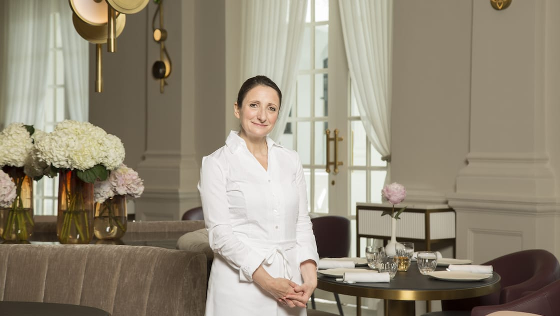 Much of the buzz surrounding the Raffles Hotel's new restaurant concepts revolves around its chef-partners, including chef Anne-Sophie Pic who runs the three-MICHELIN-starred Maison Pic in France. (Photo: Raffles Hotel Singapore)