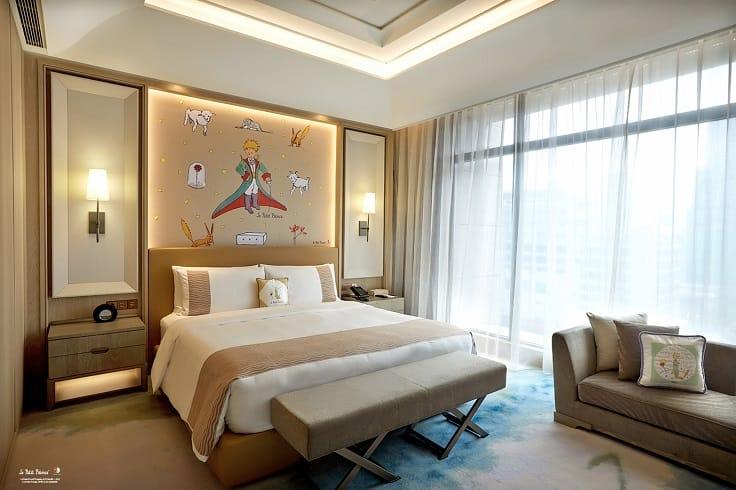 台北美福大飯店在暑假推出小王子主題的住宿專案。(圖片:台北美福大飯店)