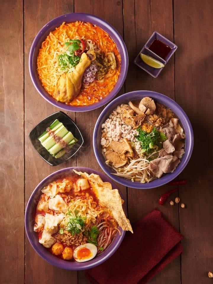 NARA Thai noodle bar提供多種湯頭的經典泰式麵食。(圖片提供:NARA Thai noodle bar 臉書)