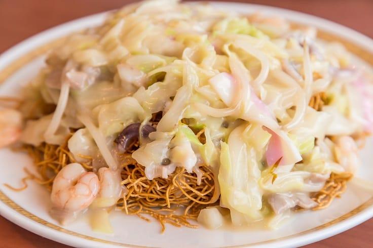 長崎特色的「皿烏冬麵」這次也入選指南。(圖片:Shutterstock)