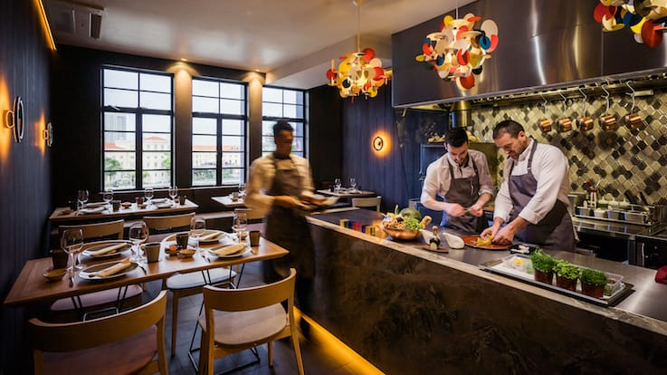 Like a private kitchen, Braci is De Vito's culinary playground. (Pic & banner pic: Braci)