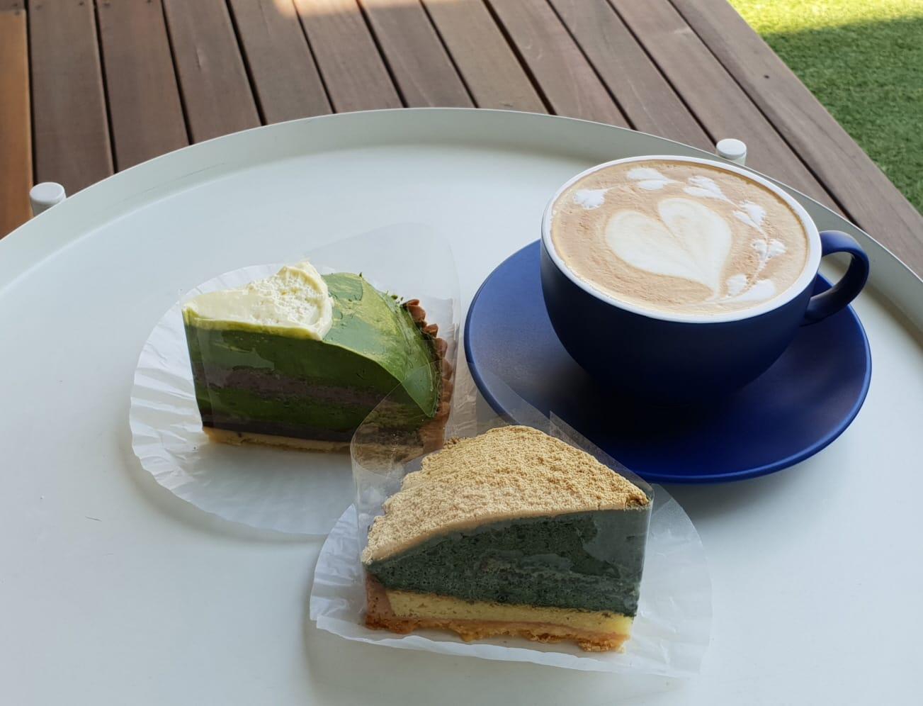 바림케이크 (Barim Cake) 의 쑥호박타르트