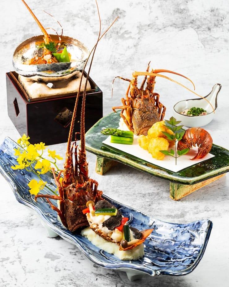 灘萬日本料理懷石式擺盤,美感十足,跟隨季節轉風格。(圖片:灘萬日本料理面書)
