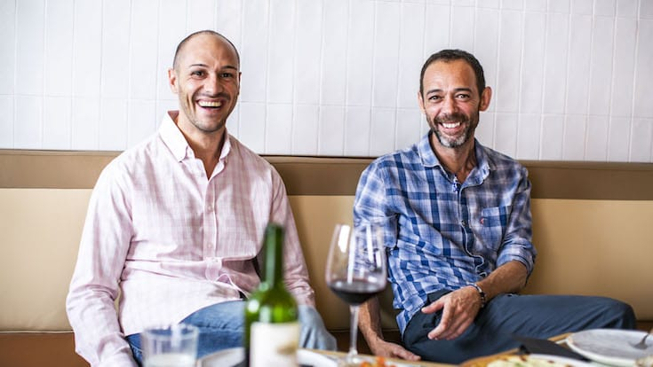 Miquel Sabrià (left) and Alain Devahive (Pic: Olivia Restaurant & Lounge)