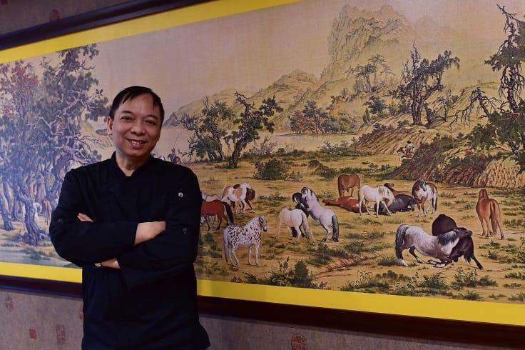 到台灣超過四分之一世紀的楊華志師傅。(照片:鄔智明)