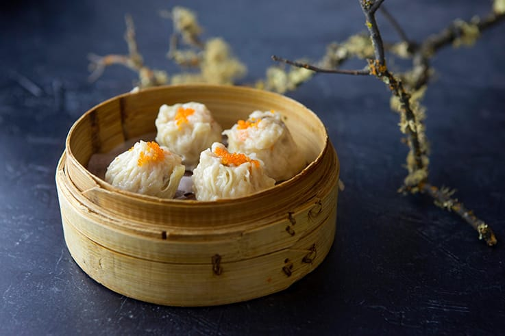 Siu mai at Harborview. (Photo courtesy of Harborview/Facebook.)
