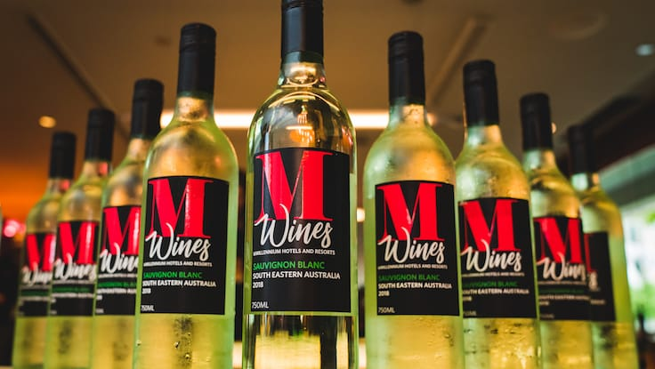M Wines is Millennium Hotels And Resorts' private label (Pic: Millennium Hotels)