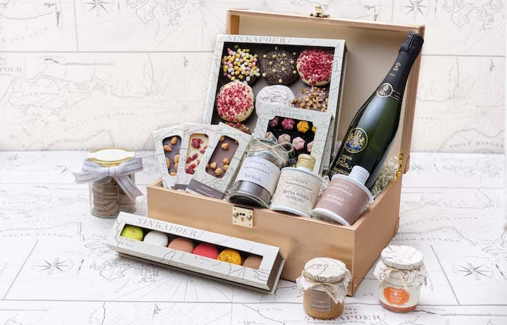 Ritz-Carlton's private labe Réserve Ritz Brut NV is available in the Colony Signature Hamper as well. (Pic: The Ritz-Carlton Millenia Singapore)