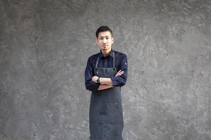 田原諒悟在 logy 提供呈現亞洲風味的料理。(照片:logy 提供)