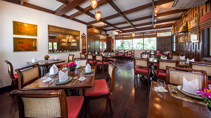 Elegant Thai dining at Baan Khanitha. Photo courtesy of Baan Khanitha.