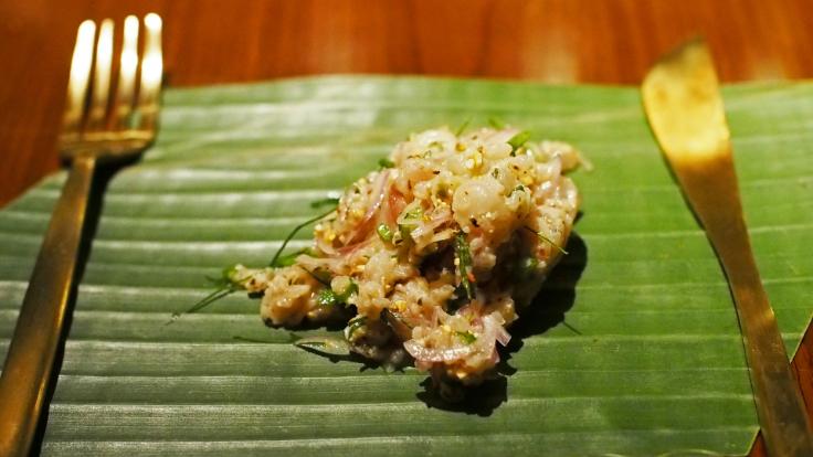 The northeastern raw meat salad or <i>koi</i>. Photo credit: Natcha Sanguankiattichai.