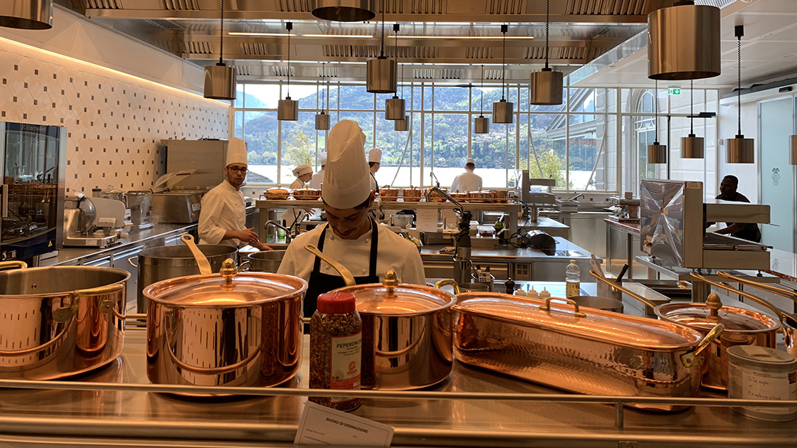 A Modern Tribute To An Italian Culinary Legend Opens On Lake