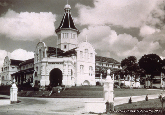 Goodwood Park Hotel in the 1930s (Pic: Goodwood Park Hotel)