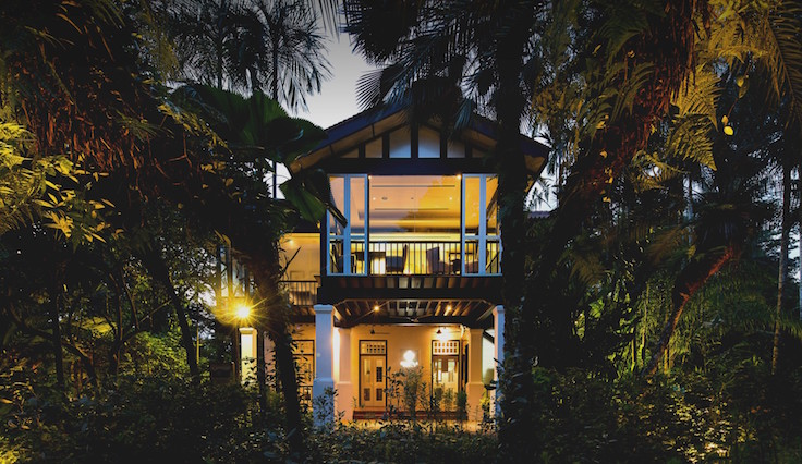 Corner House is named for E J Corner, the former Assistant Director of the Singapore Botanic Gardens who resided in the property for 13 years. (Photo: Corner House)