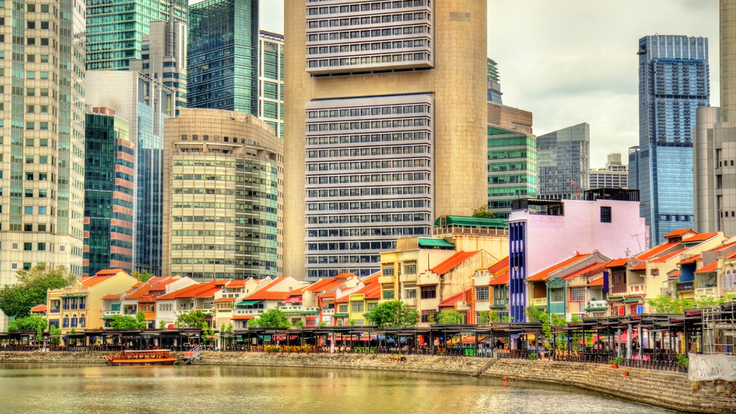 The historical Boat Quay district (Pic: Shutterstock)