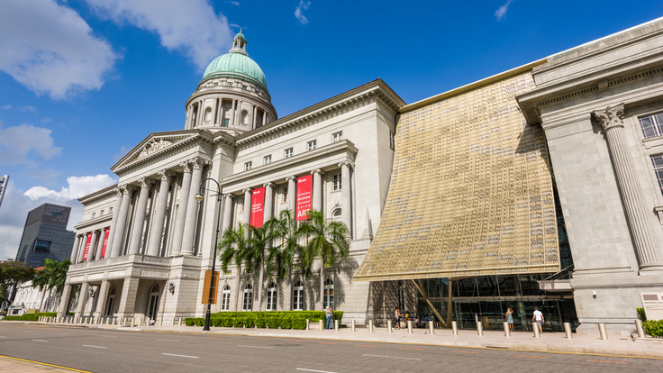 The National Gallery Singapore (Pic: Shutterstock)