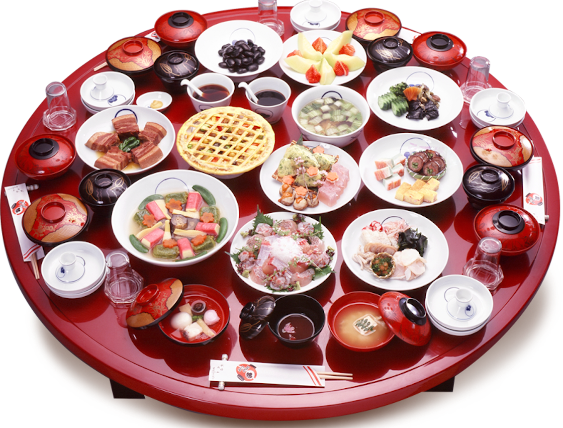 Shippoku Ryori is a banquet-style cuisine that incorporates influences from East and West cultures.