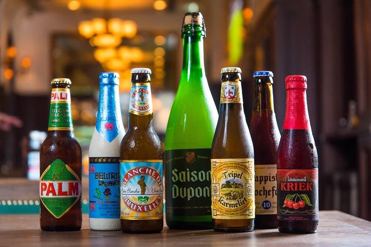 Frites Belgium on Tap 有過百款香檳、樽裝啤酒、生啤、葡萄酒、雞尾酒等,一應俱全。(圖片:Frites Belgium on Tap 面書)