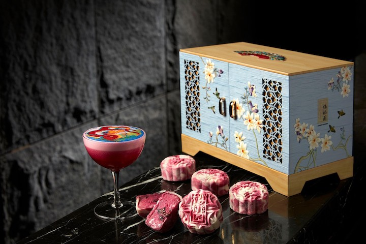 The Mother of Dragon snowskin mooncake (Photo: Mandarin Oriental Singapore)