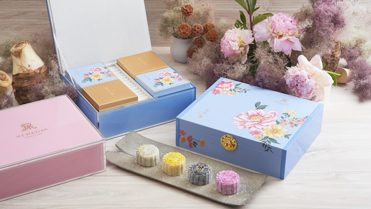 Assorted Snow Skin Mooncakes from The St. Regis (Pic: The St. Regis)