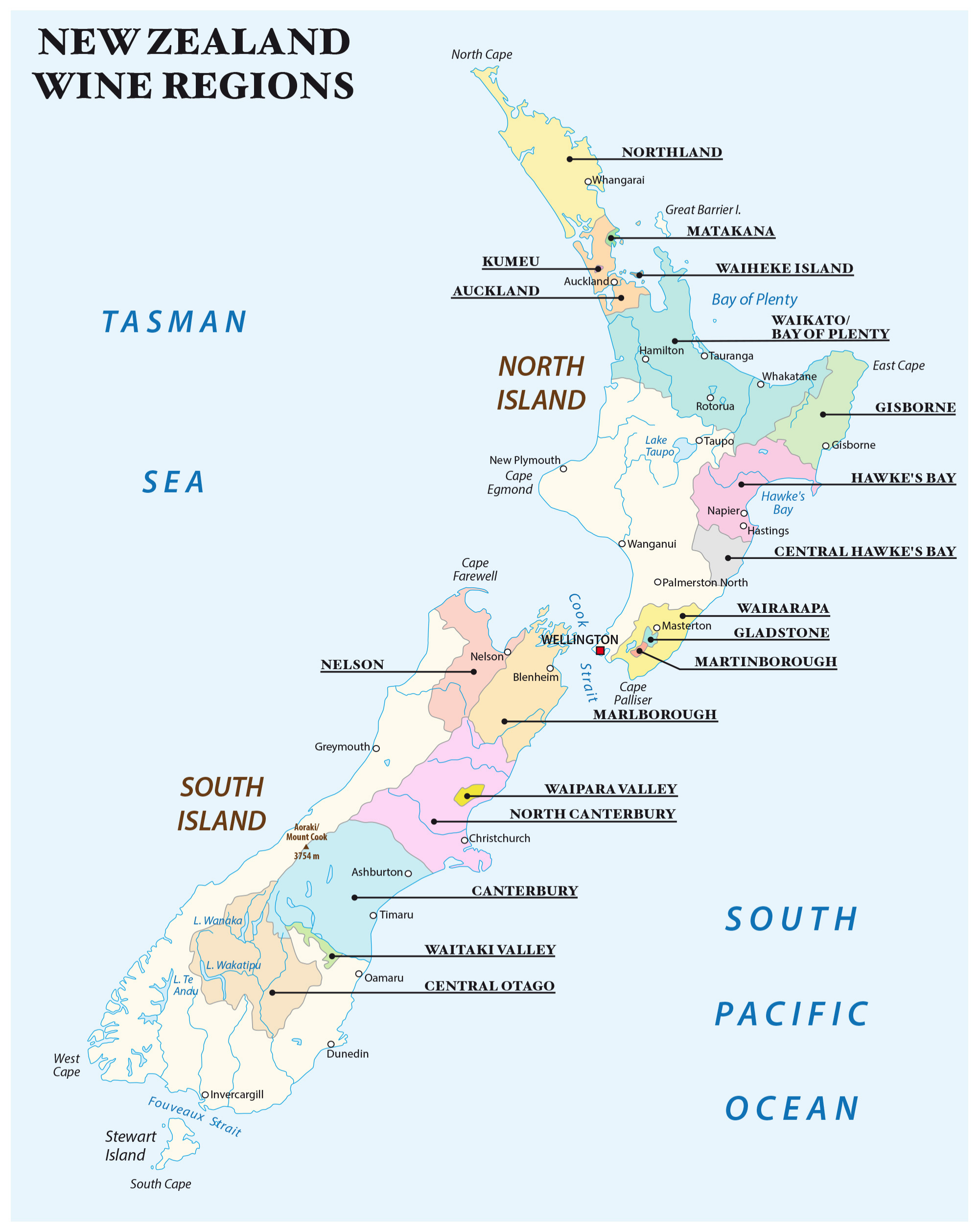 The wine regions of New Zealand (Pic and Banner Pic: Shutterstock)