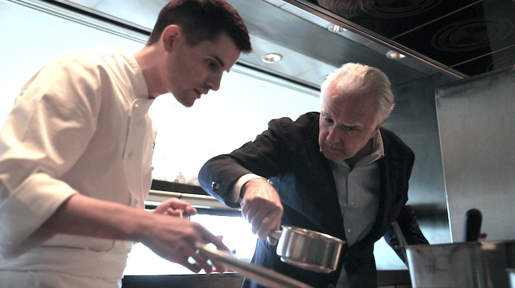 Ducasse is passionate about the sharing of knowledge.