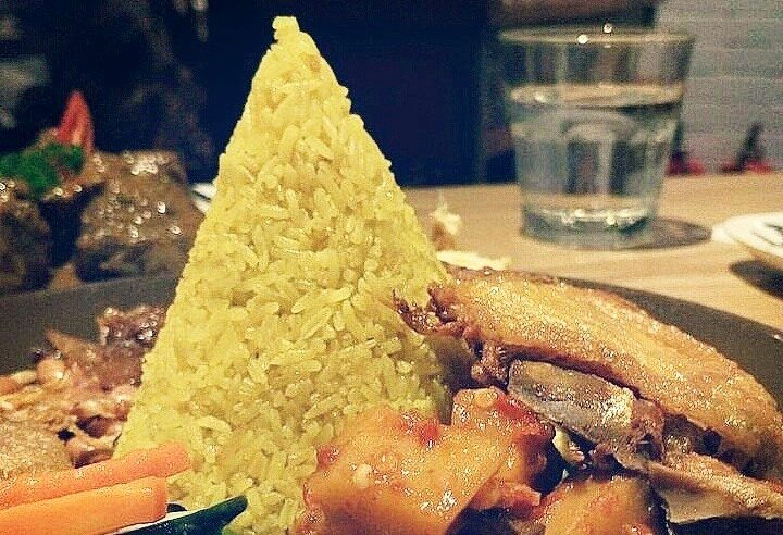 Nasi kuning from Pandan Indonesian Restaurant. (Photo: Pandan FB Page)
